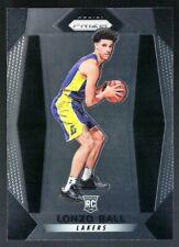 2017-18 Panini Prizm Rookie #289 Lonzo Ball RC Lakers Pelicans