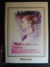 """1999  Italia  Folder  """" La Donna Nell'Arte """"   MNh**"""