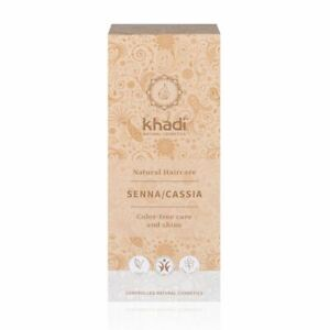 Khadi Herbal Natural Hair Colour Henna, Senna/Cassia 100g