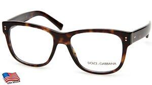 NEW D&G Dolce&Gabbana DG 3305 502 HAVANA EYEGLASSES GLASSES 54-17-145 B44 Italy