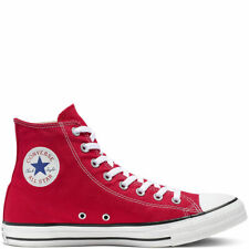 Converse cortos High Chuck Taylor All Star-Hi-rojo lona normal unisex