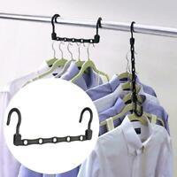1/3/5pcs Wonder Hanger Max Closet Space Saving Magic Hangers  Rack Cloth Hanger