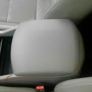 Center Console Armrest Real Leather Cover for Honda Pilot 03-08 Beige