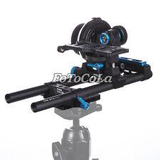 Fotga DP3000 follow focus+DP500IIS 15mm rod rail Baseplate for DSLR 5D II III 7D