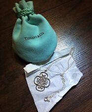 Tiffany & Co 925 Sterling Silver Paloma Picasso Venezia Goldoni Pendant Necklace