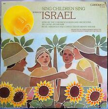 Tav La-Taf Pa Amonim Childrens Choir - Songs Of Israel LP VG+ TC 1672 Vinyl 1981