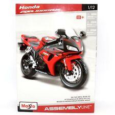 Honda CBR 1000RR 1:12 Escala Modelo de Metal Fundido a Troquel Kit de línea de montaje Motocicleta