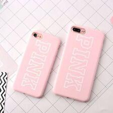 Victoria's Secret Victoria rosa logotipo de la marca iPhone 7 Estuche/Cubierta