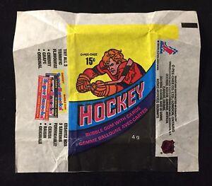 1978-79 OPC HOCKEY WAX PACK WRAPPER - NO TEARS - O-PEE-CHEE CANADA