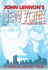 John Lennon's New York DVD (2 Discs) NEW/SEALED OOP
