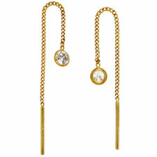 Ohrringe aus Gelbgold mit Durchzieher günstig kaufen | eBay