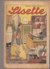 LISETTE 1939 .N°45.AU DOS JACKIE. TEXTES ET DESSINS DE GEORGES BOURDIN  BE