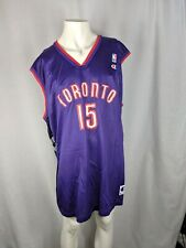 Champions Toronto Raptors #15 Vince Carter Purple Black NBA Jersey Mens Size 52
