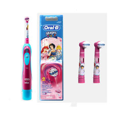 Oral-B Kids DB4510K Stages Power Electric Toothbrush&Replacement Head 2p(Girls)