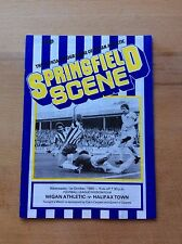 Wigan Athletic v Halifax Town programme 1980/81