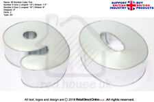 "Number Cake Baking Tin Rounded Corner | Pair Number 9 0  | 3"" Deep 