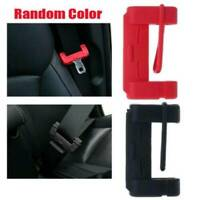 Car Seat Belt Buckle Clip Silicone Anti-Scratch Cover Safety Accessories Random@