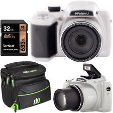 """Polaroid IX5038 50x Zoom Instant Digital Camera 18MP HD Video 3"""" LCD Bundle"""