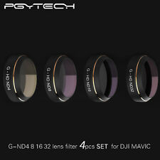 PGY 4-In-1HD ND4 ND8 ND16 ND32 Filter Lens Polarizer For RC Drone DJI Mavic Pro
