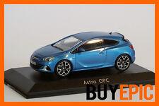 Motorart Opel Astra J GTC OPC, Ardenblau, Modellauto 1:43, Dealer, NEU&OVP