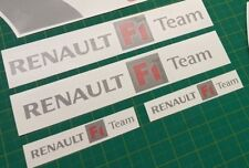 Renault Sport Megane R26 230 RS F1 Team decal set stickers sides front tailgate