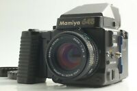 【NEAR MINT】 Mamiya M645 Super + Sekor C 80mm f/2.8 N + Cap From Japan 922