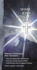 Share Jesus Without Fear - KJV - HardCover, Leather Bound