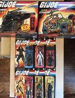 GI Joe Retro Lot Of All 6 Figures + Cobra H.I.S.S & A.W.E. Striker. Hasbro