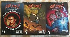 Beyond Dead by Dawn Evil Dead 2 - Full Set #1B, 2, 3 Darren Vincenzo Autographed