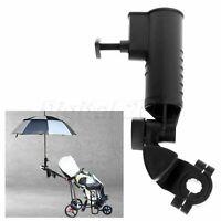 1pcs Adjustable Golf Umbrella Holder Stand Clamp for Push Cart Stroller Durable