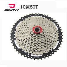 BOLANY 10 Speed 11-50T Freewheel MTB Mountain Bike Big Cassette For SHIMANO SRAM