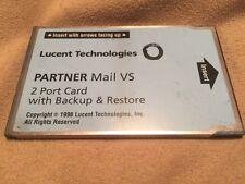 AVAYA PARTNER MAIL VS 2 PORTS WITH BACKUP & RESTORE 108344268
