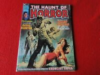 Vintage Monster Horror Magazine Comic Haunt of Horror Stan Lee Sept. 1974    G36
