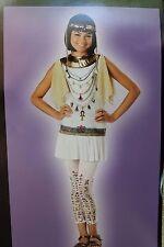 NEW GIRLS XL 12 14 CLEOPATRA BLING HALLOWEEN COSTUME DRESS EGYPT EGYPTIAN