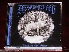 Destroyer 666: Unchain The Wolves CD 2015 Hells Headbangers Rec USA HELLS152 NEW