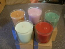 Partylite CALM WATERS SCENTED ESSENTIAL Jar Candle NIB