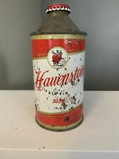 Hauenstein New Ulm Beer Cone Top Can W/Cap ~ John Hauenstein Co. ~ Minnesota