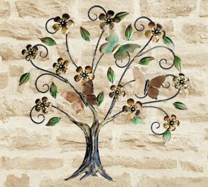 Vintage Decor® Butterfly Tree Ornamental Wall Art Indoor Outdoor Garden Decorate