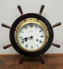 Schatz Mariner Ships Clock.  Working, Runs/Chimes.  Vintage, Made In Germany.