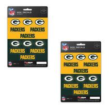 Green Bay Packers Mini Decals Sticker Sheet 12 Decals 1x1 Inch