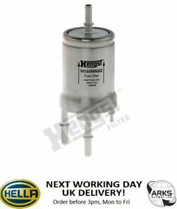 HENGST IN-LINE FUEL FILTER - H155WK02 (Nextday UK delivery)