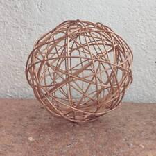 Rose Gold Decorative Metal Sphere (Large)