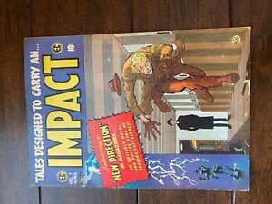 IMPACT No. 1 EC Comic (1955)