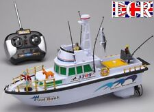 RC RADIO REMOTE CONTROL TWIN PROPELLER DEEP SEA TRAWLER FISHING OCEAN BOAT SHIP