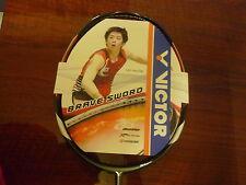 Strung VICTOR BRS12N BS12N badminton racquet racket Brave Sword 12 New Arrival