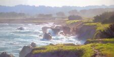 """Mendocino"" June Carey Limited Edition Fine Art Giclee Canvas"