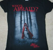 Red Riding Hood Movie Poster Art Baby Doll/Juniors Style T-Shirt Size LARGE NEW