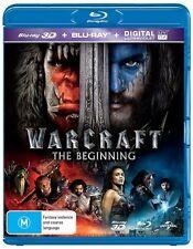 The Warcraft - Beginning (Blu-ray, 2016, 2-Disc Set)
