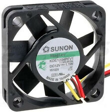 Sunon Mag Lev Cooling Fan KDE1204PFV1 40mmx40mmx10mm 12VDC 1.1W 3 Wire #M255 QL