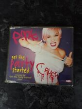 PINK - GET THE PARTY STARTED  SINGLE CD  FREE POSTAGE UK